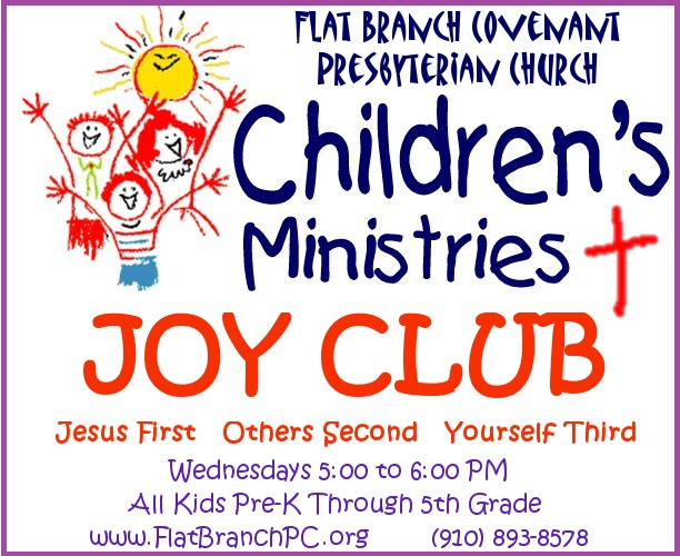 Joy Club Children's Ministry Logo